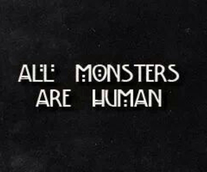 black, color, and monsters image