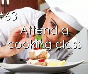 wish, bucket list, and cooking class image