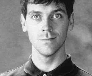 hugh laurie and young image