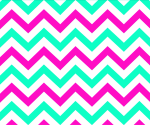 chevron, hot pink, and mint image