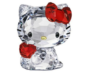 crystal, hello kitty, and cute image