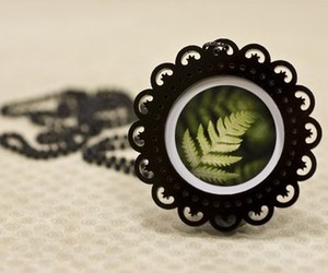 fern, necklace, and victorian image