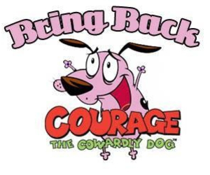 cartoon network, courage the cowardly dog, and tv image
