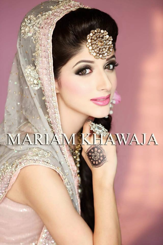 New Bridal Makeup Ideas By Mariam Khawaja From 2014 15 Wfwomen - Bride-makeup-games