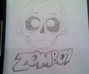 draw, dubstep, and zomboy image
