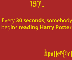 harry potter, book, and fact image