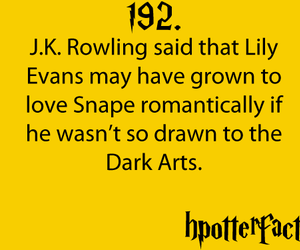 fact, YES!, and harry potter facts image