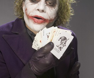 heath ledger, batman, and joker image