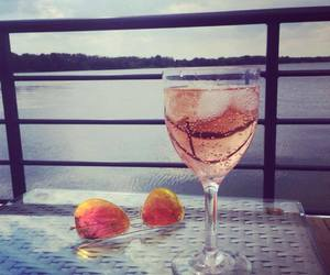 drink, relax, and sunglasses image