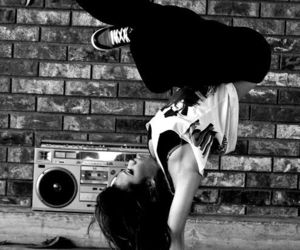 dance, hip hop, and music image