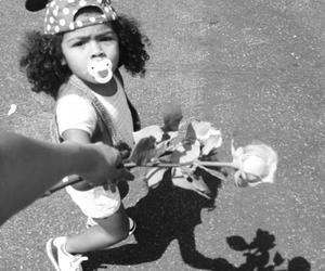 baby girl, disneyland, and rose image