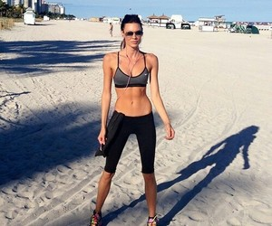 abs, fit, and beach image