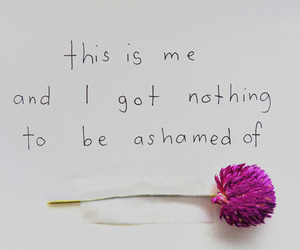 confident, flower, and quotes image