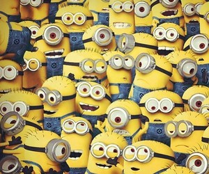 aww, despicable me 2, and minions image