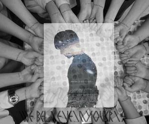 exo, exostan, and we believe in you kris image