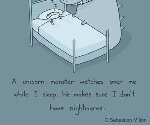 make, nightmare, and unicorn image
