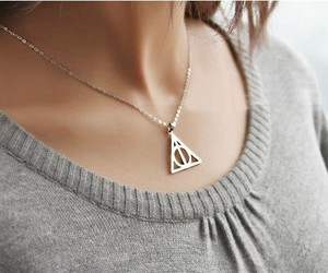 deathly hallows, want, and deathly hallows necklace image