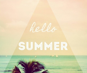 summer, happiness, and hello image