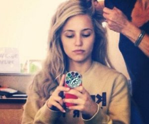 dianna agron, beautiful, and blonde image
