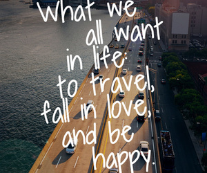 travel, love, and life image