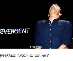 divergent, theo james, and interview image