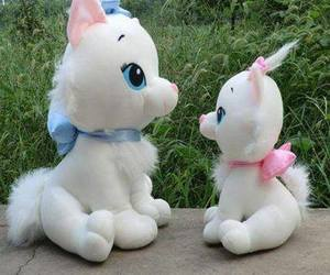 cats, pretty, and toys image