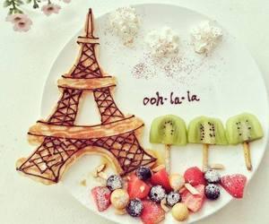 paris, food, and fruit image