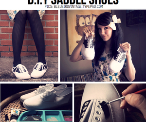 diy, shoes, and creative image