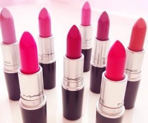 lipstick, mac, and love image