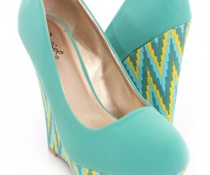 wedges, wedge shoes, and cute wedges image