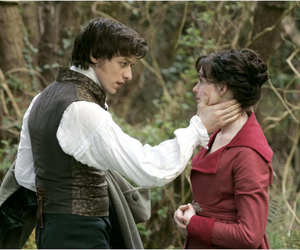 james mcavoy, Anne Hathaway, and becoming jane image