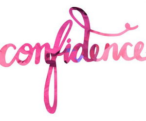 confidence, pink, and quotes image