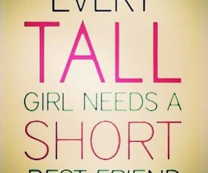tall, short, and best friends image