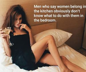 women, don't know, and bedroom image
