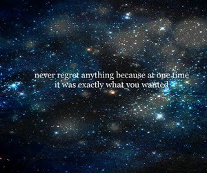 quote, text, and stars image