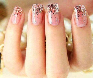 beau, nail art, and strass image