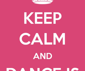 and, calm, and dance image