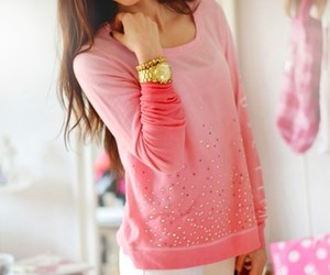 fashion, pink, and girl image