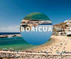 beach, Carribean, and boricua image