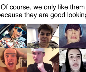 cameron dallas, taylor caniff, and carter reynolds image