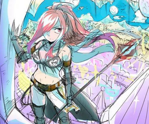 fairy tail, erza, and erza knightwalker image