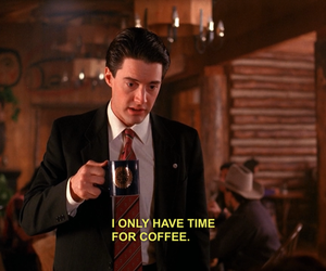 coffee, Twin Peaks, and quotes image