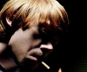 rupert grint, sexy, and cigarette image