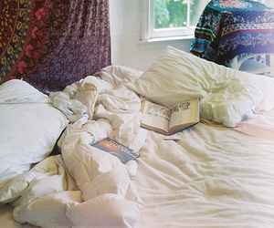 beautiful, books, and pillows image
