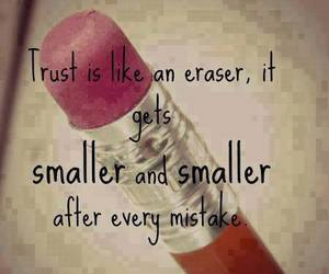 trust, quote, and mistakes image