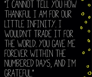 love words, message, and the fault in our stars image
