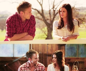 couple, kiss, and hart of dixie image