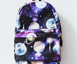 bag, fashion, and galaxy image