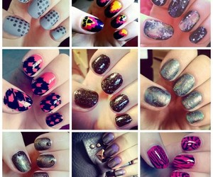 manicure, nails, and manicura image