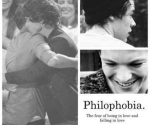 fall in love, philophobia, and louis tomlinson image